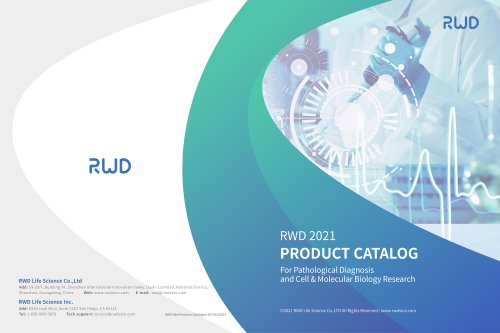 RWD Catalog for Cell& Molecular Biology