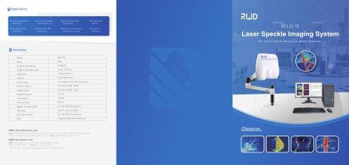 RWD Infusion imager RFLSI Ⅲ