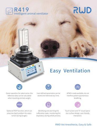 RWD Intelligent Animal Ventilator R419