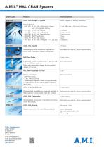 A.M.I.® HAL / RAR System - 4