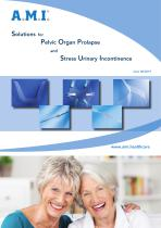Solutions for  Pelvic Organ Prolapse  and Stress Urinary Incontinence - 1