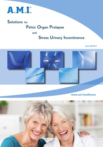 Solutions for  Pelvic Organ Prolapse  and Stress Urinary Incontinence