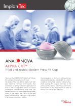 ANA.NOVA® Alpha Cup®