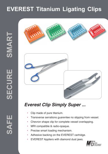 EVEREST Ligaclips and Appliers