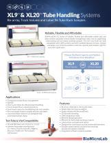 XL9 & XL20 Tube Handling Systems