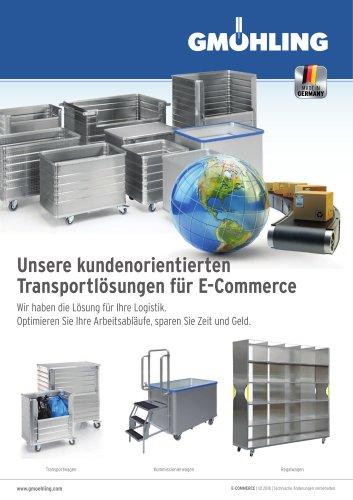 Unsere kundenorientierten Transportlösungen für E-Commerce