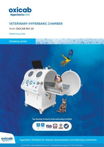 Hyperbaric Veterinary Chamber for pets & small animals - MV-20