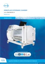 Monoplace Hyperbaric Chamber MO-13