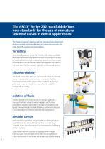ASCO™ Series 252 Modular Dental Manifolds - 2