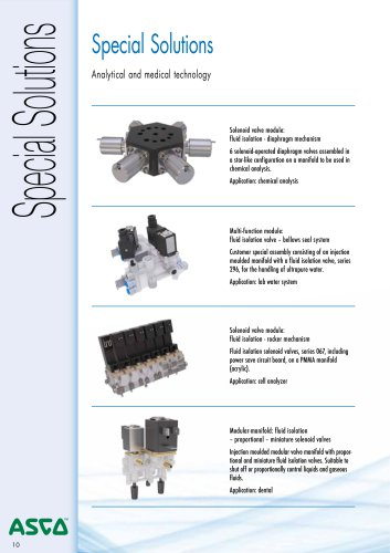 Solenoid Valves Special Solutions