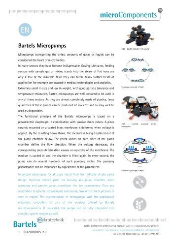 Bartels Micropumps