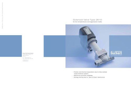 Solenoid Valves Type 2610