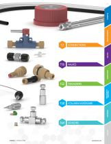FLUIDIC & OPTICAL PRODUCTS AND INFORMATION - 11