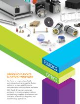 FLUIDIC & OPTICAL PRODUCTS AND INFORMATION - 4
