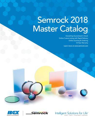 Semrock 2018 Master Catalog