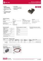 Picosol MS 10mm 3/2 Media separated solenoid valves