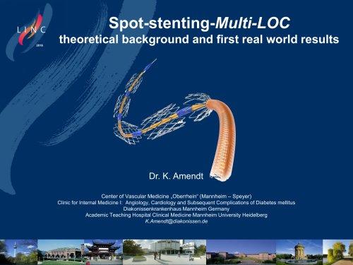 multi LOC Dr. Amendt LINC 2016