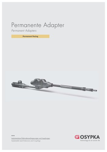 Permanent Adapters