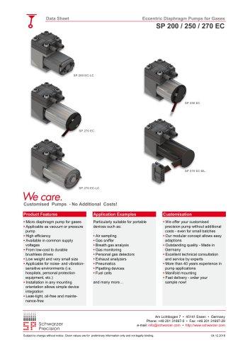 SP 200 / 250 / 270 EC