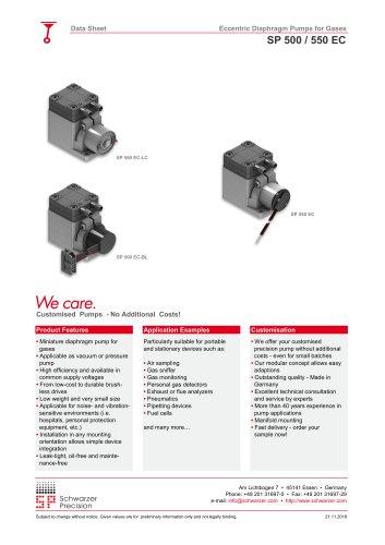 SP 500 / 550 EC