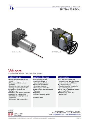 SP 720 / 725 EC-L