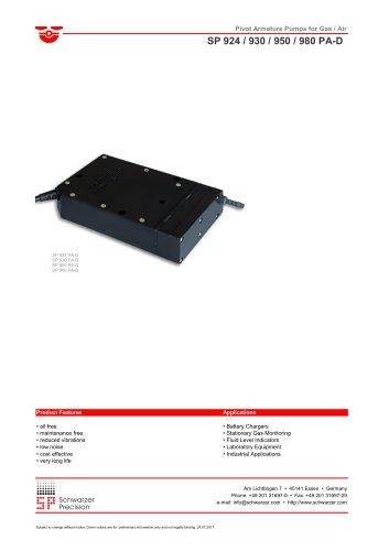 SP 924 / 930 / 950 / 980 PA-D