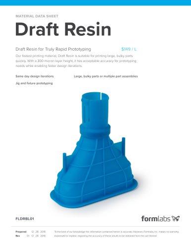Draft Resin