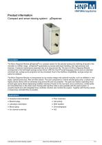 Product information Compact and smart dosing system - 1