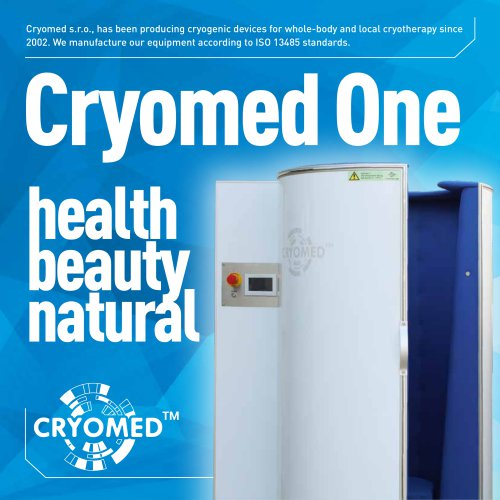 CRYOMED ONE cryosauna