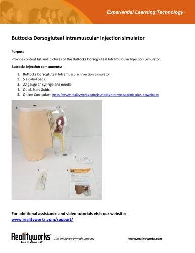 Buttocks Intramuscular Injection Simulator