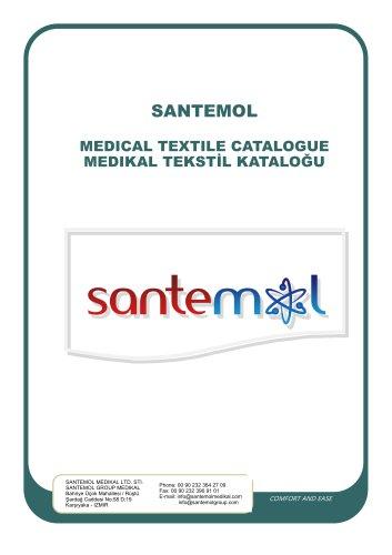 SANTEMOL Group  MEDICAL - HOSPITAL TEXTILE - UNIFORMS CATALOGUE