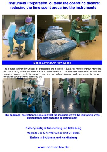 Instrument Preparation  outside the operating theatre