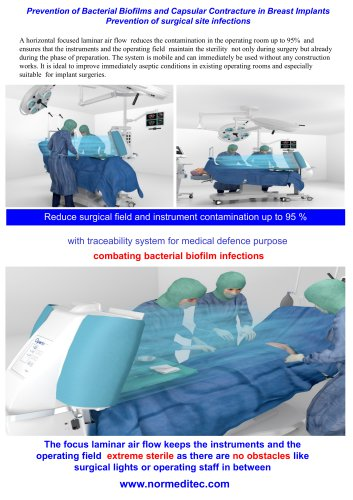 operating room ventilation systems for class 1