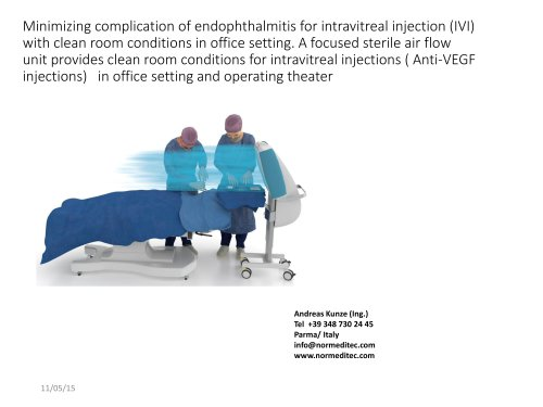 Prevention of Endophthalmitis in Anti-VEGF Intravitreal Injections