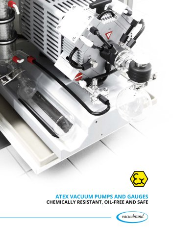 ATEX Vacuum Pumps and Gauges