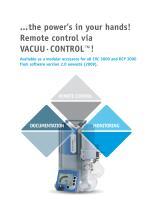 VACUU·CONTROL® - Remote Control - 2