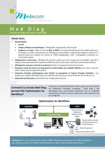 Med Diag - Diagnostic Software for Digital Radiology
