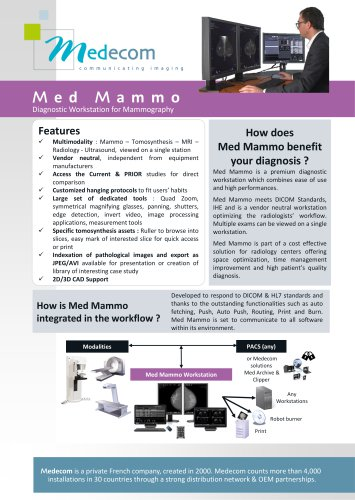 Med Mammo & Tomosynthesis