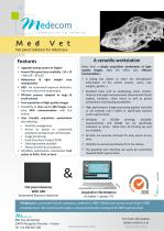 Med Vet - Flat Panel & Acquisition Workstation for Vet