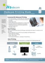 Print & Measurements Module - Available on diagnosis software Med Mammo & Med Diag