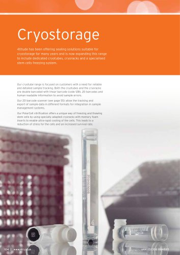 Cryostorage and PolarCell