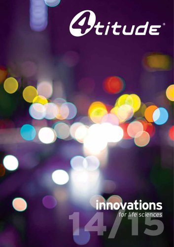 innovations for life sciences 2014/15 Catalogue