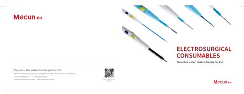 ELECTROSURGICAL CONSUMABLES