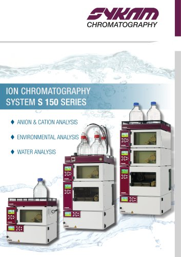 Ion Chromatography System S 150 Series