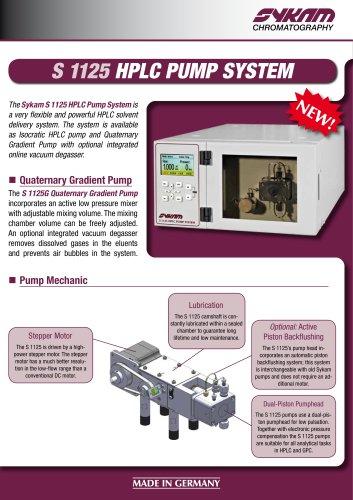S 1125 HPLC Pump System
