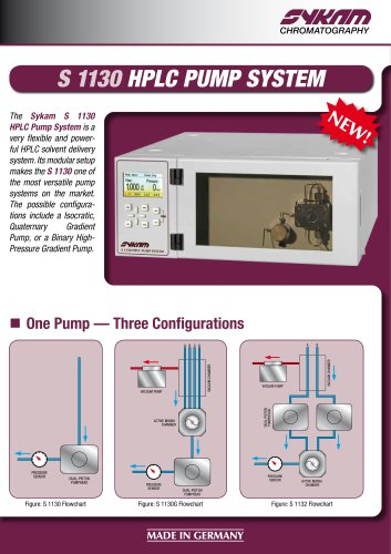 S 1130 HPLC Pump System