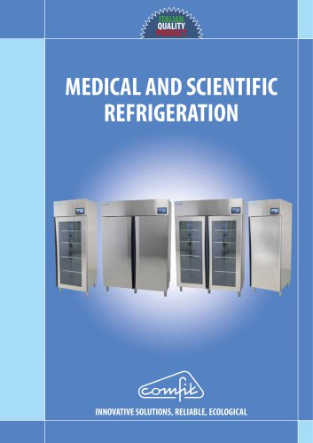 Medical and scientific refrigeration