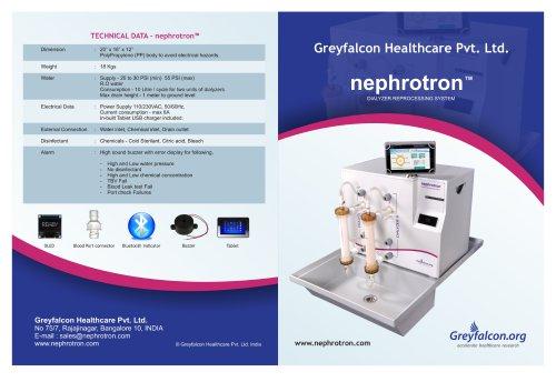Nephrotron Brochure 1