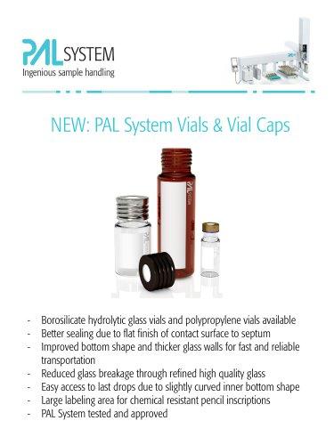 PAL System Vials & Vial Caps