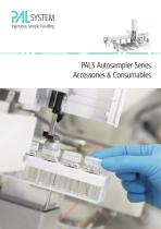 PAL3 Autosampler Series Accessories & Consumables